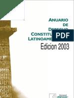 Anuario de Derecho Constitucional Latinoamericano 2003