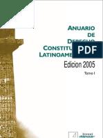 Anuario de Derecho Constitucional Latinoamericano 2005 Tomo I