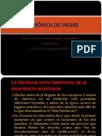 Crc3b3nica de Indias