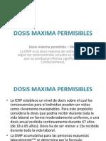 5ta - Clase - 4ta Parte Dosis Maxima Permisibles