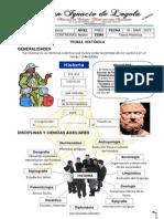 SEMANA 1 - TEORIA HISTÓRICA - PREU - SOCIALES