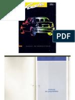 Manual do proprietário Ford Fiesta 97.98
