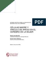 Informe Cientifico Sobre La Comunicación Materno-filial en El Embarazo.