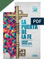 Folleto de Pascua 2013 La Puerta de La Fe