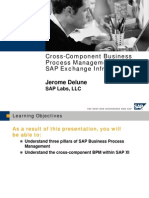SAP NetWeaver - Cross-Component Business Process Management With XI 3[1].0