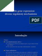 A expressão de genes induzíveis 2 - Power Point