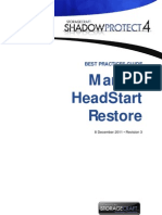 BP000006 Manual HeadStart Restore