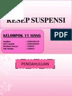 Suspensi  - suspension