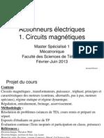Les circuits magnétiques