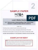 Exempler for Audience Paper NCEA LEVEL 2[1]