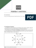 PORFIRIA ANESTESIA