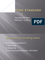 Accounting Standard 7