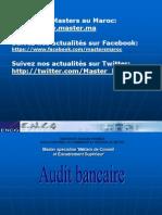 Cours Master Audit Bancaire