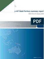 457 State Territory Summay Report Jan13