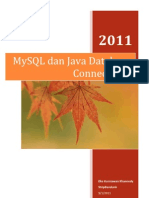 72851150 MySQL Dan Java Database Connectivity