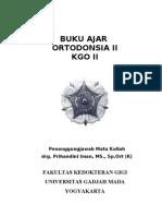 Buku Ajar Orto II Th 2008