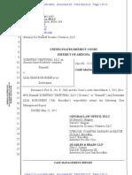 83 - Case Management Report