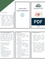 Leaflet Konjungtivitis
