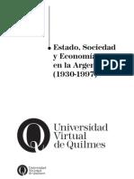 Carpeta de Trabajo Estado, Sociedad y Economía ARG 1930-1997