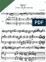 Creston - Sonata for Alto Saxophone & Piano