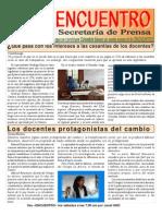 BOLETÍN PROGRAMA ENCUENTRO Nº 66 (20080927)