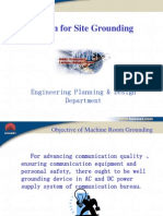 Design for Site Grounding System