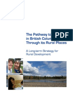 The Pathway to Prosperity in BC Runs Through Rural Places