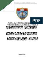 Reglamento de Convivencia Escolar de La i.e Ela Cuculi 2011