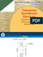 ejercicios de tolerancias geométricas