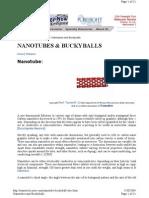 Nanotube Buckyball Sites