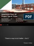 85182668 autoplant 3d training1 installation computer programs auto cad - Autoplant 3d