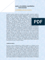 El calibrado y el análisis cuantitativo instrumental