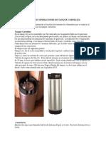 Manual de Operaciones de Tanque Cornelius