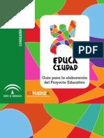 Guia Para La Elaboracion de Proyecto Educativo