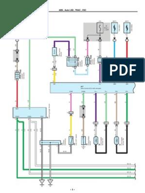 2007 2010 Toyota Tundra Electrical Wiring Diagrams Anti Lock Braking System Machines