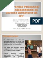 Compromiso Psicosocial y Drogodependencia en Jóvenes Infractores (Estrategias II)