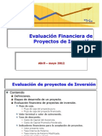 Evaluacion Financiera de Proyectos de Inversion