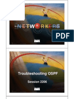 Troubleshooting OSPF (2206!7!5)