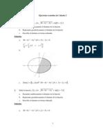 Ejercicios Resueltos de Calculo de Varias Variables