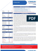 Go Ahead for Equity Morning Note 18 March 2013-Mansukh Investment and Trading Solution