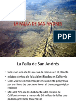La Falla de San Andres