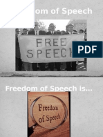 Free Speech PowerPoint