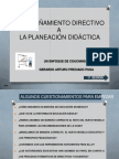 ACOMPAÑAMIENTO DIRECTIVO A LA PLANEACIÓN DIDÁCTICA