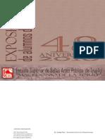 Catálogo Alumnos Esbat  2010