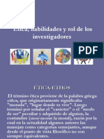 Etica y Rol de Los Investigadores