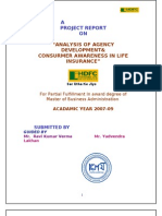 """ANALYSIS OF AGENCY DEVELOPMENT&