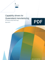 Capability Challenges for Queensland Manufacturing White Paper March 2013