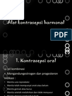 Alat Kontrasepsi Hormonal