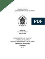 Ikhtiologi - Ikan Haline & Thermal