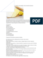 76900110 Como Preparar Tortillas Para Tacos Mexicanos